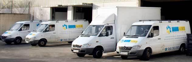 Servicio de transporte y envío gratis