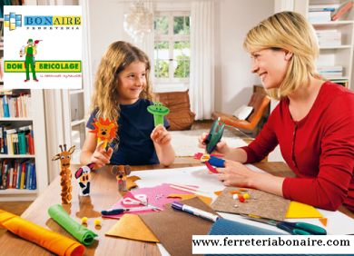 ferretería y bricolaje en familia, valores que aprenden nuestros hijos con la practica del bricolaje, organización