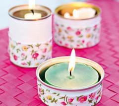 utilizar velas para ahorrar en calefacción