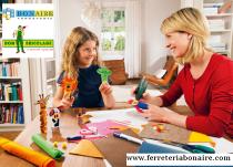 los niños y el bricolaje, lo que aprenden